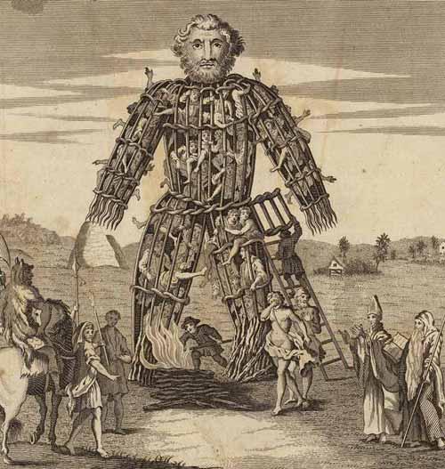 sacrificii umane celti