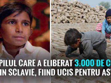 salvat 3.000 de copii din sclavie