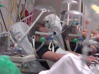 filmare din Spitalul din bergamo