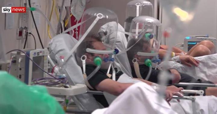 Filmare din Spitalul din Bergamo. Medicii vor să vedem cu ce se confruntă
