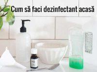 cum să faci dezinfectant acasă