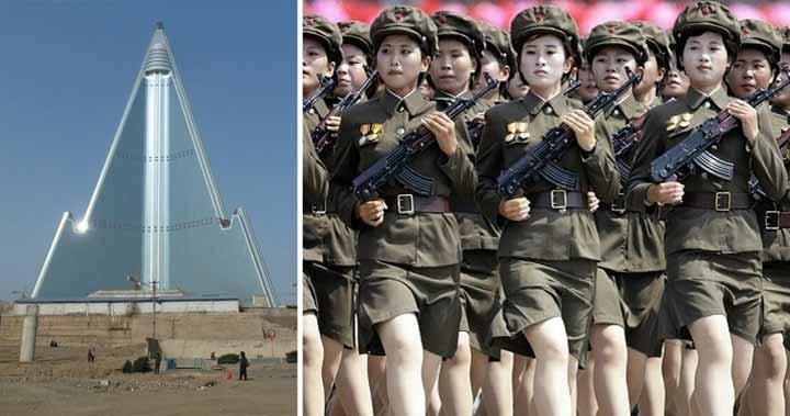 curiozităţi despre coreea de nord