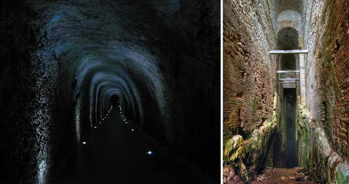 tunelurile lui claudius
